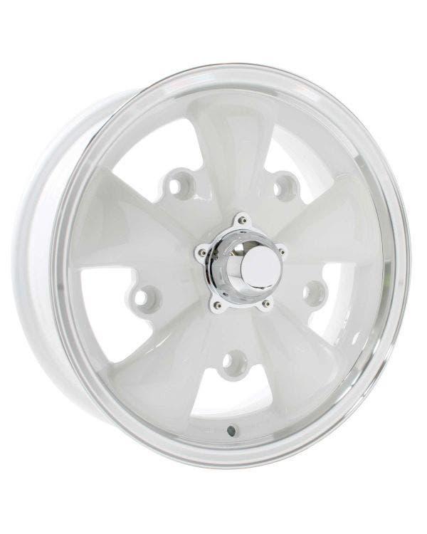 SSP GT 5 Spoke  Alloy Wheel White 5.5Jx15'' with 5x205 Stud Pattern ET20