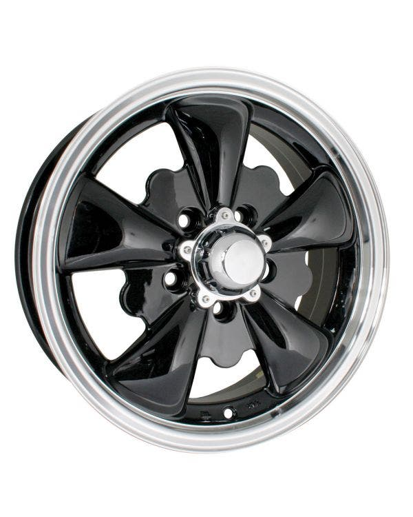 SSP GT 5 Spoke  Alloy Wheel Black 5.5Jx15'' with 5x112 Stud Pattern ET20