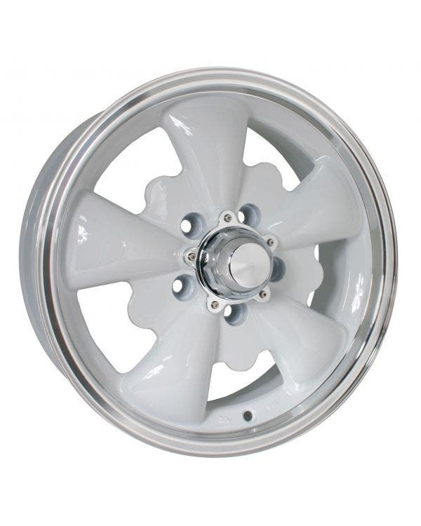 SSP GT 5 Spoke  Alloy Wheel White 5.5Jx15'' with 5x112 Stud Pattern ET20