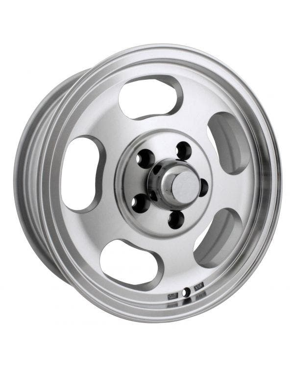 Slot Mag Alloy Wheel Machine Cut 5.5Jx15'' with 5x112 Stud Pattern ET23