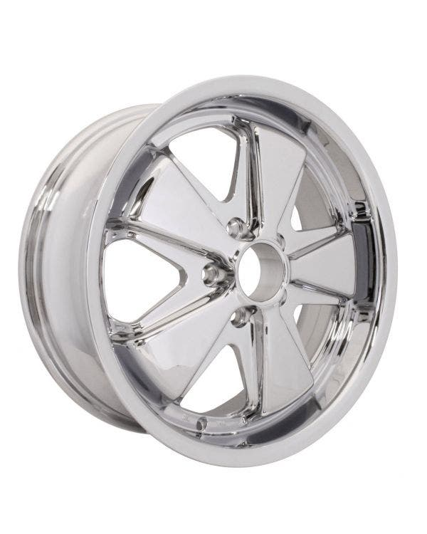 SSP Fooks Alloy Wheel Chrome 7Jx17'' with 5x112 Stud Pattern ET40