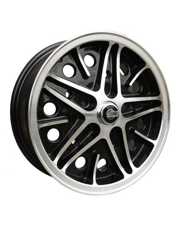 SSP Cosmic Alloy Wheel Black Diamond Cut 5.5Jx15'' with 5x205 Stud Pattern ET22