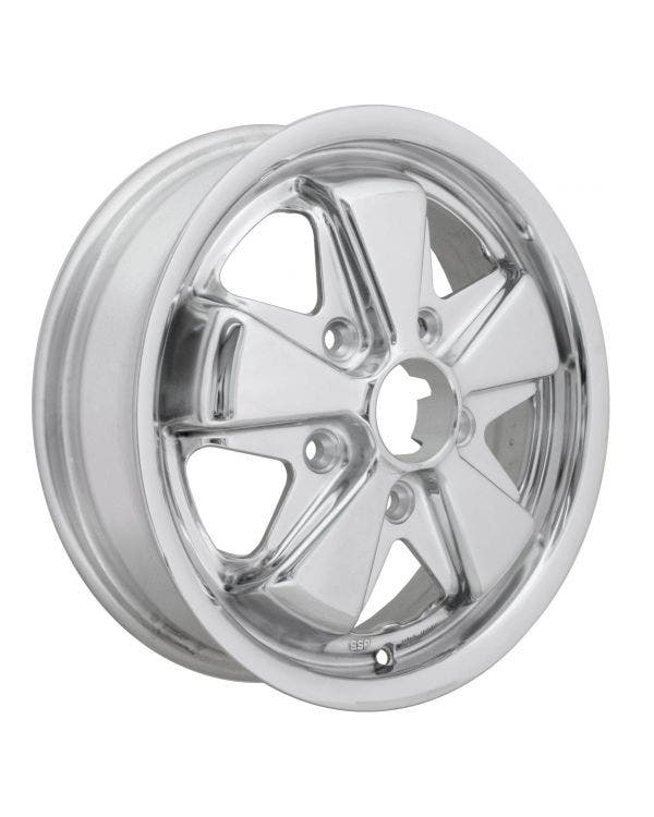 SSP Fooks Alloy Wheel with Fully Polished Finish 4.5Jx15'' 5x130 PCD ET45