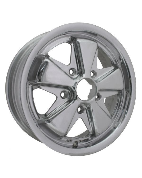 SSP Fooks Alloy Wheel Fully Polished 5.5Jx15'' with 5x130 Stud Pattern ET45