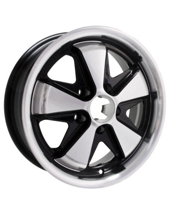 SSP Fooks Alloy Wheel Black and Polished 5.5Jx15'' with 5x112 Stud Pattern ET20