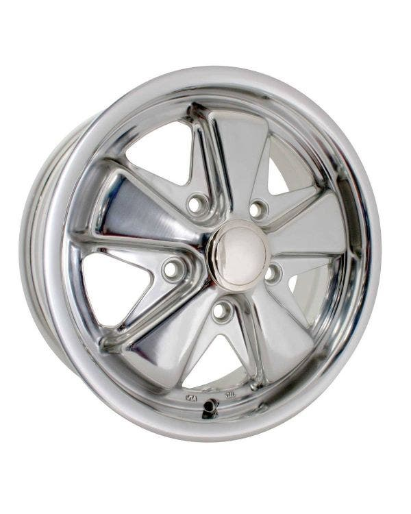 SSP Fooks Alloy Wheel Polished 5.5Jx15'' with 5x130 Stud Pattern ET45