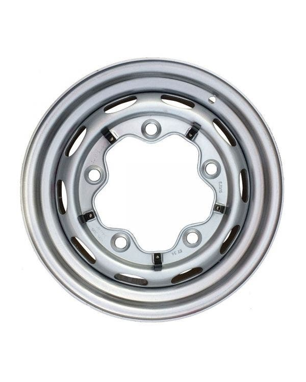 Steel Wheel 10 Slot, 4.5JX15, 5X205, ET25