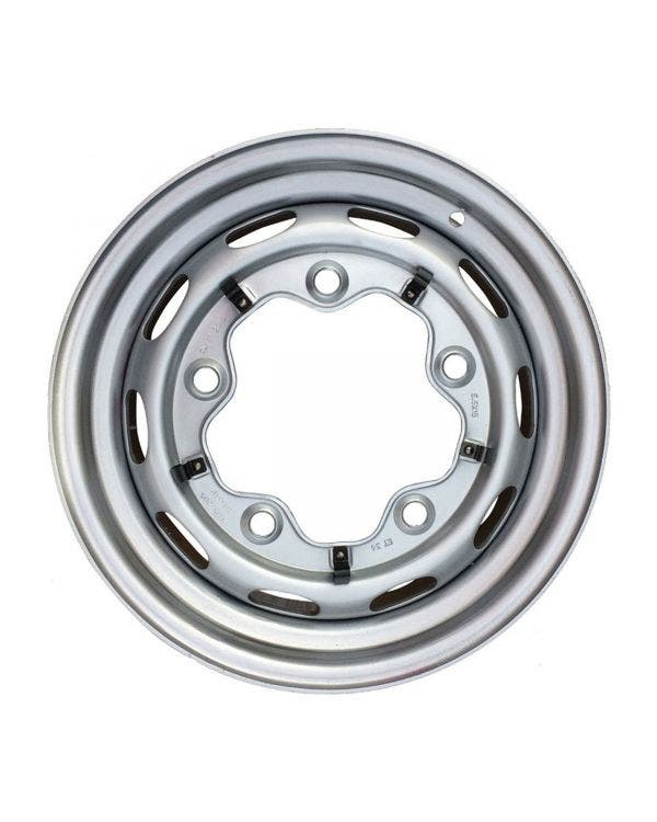 Steel Wheel 10 Slot, 5.5JX15, 5X205, ET25