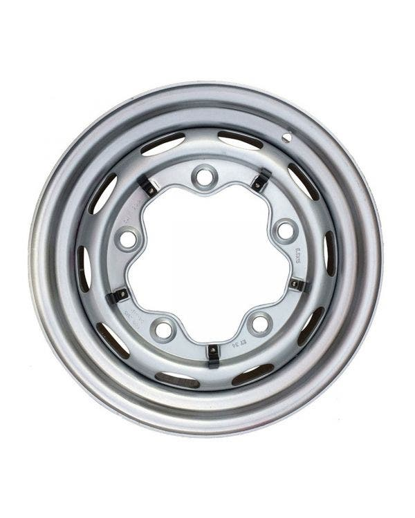 Steel Wheel 10 Slot, 5.5JX15, 5X205, ET34