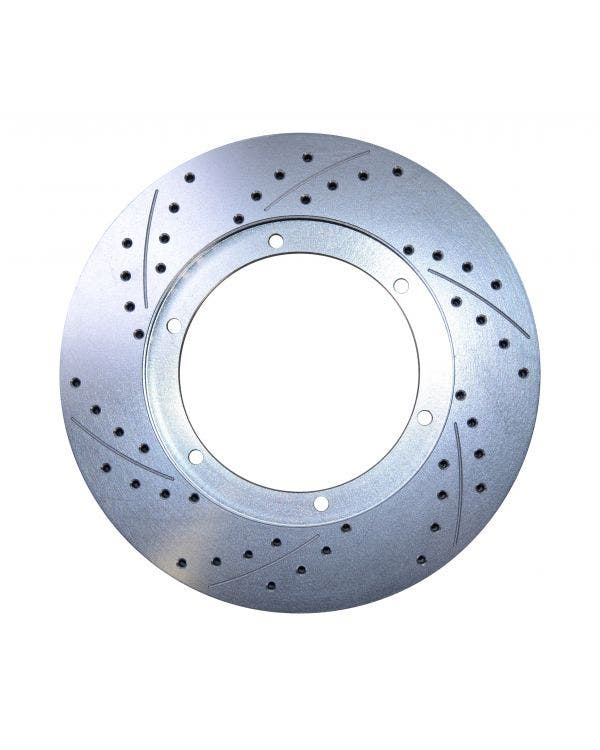 CSP Cross Drilled 15'' Vented Front Brake Disc Right