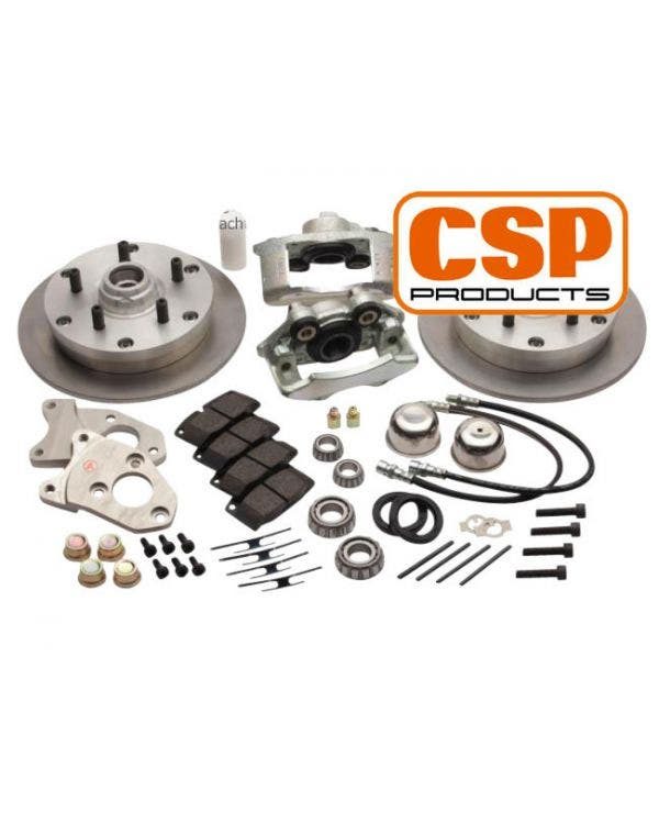 CSP Front Disc Brake Kit with 5x130 Stud Pattern for CB Dropped Spindles