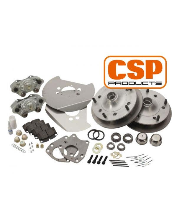 CSP Front Disc Brake Kit with 5x205 Stud Pattern Zero Offset