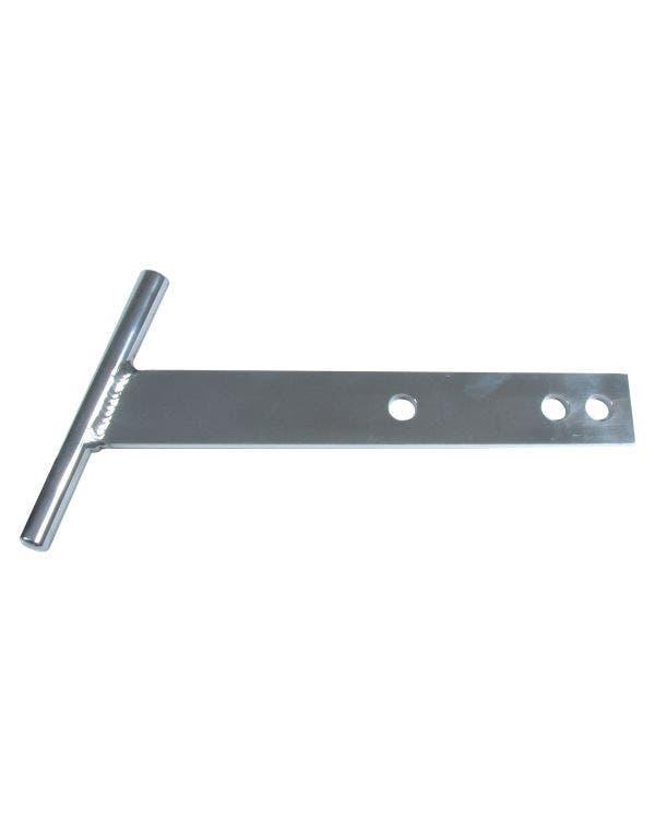 T Bars, Polished Aluminium 1200cc