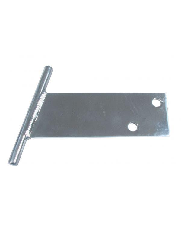 T Bars, Polished Aluminium 1300cc