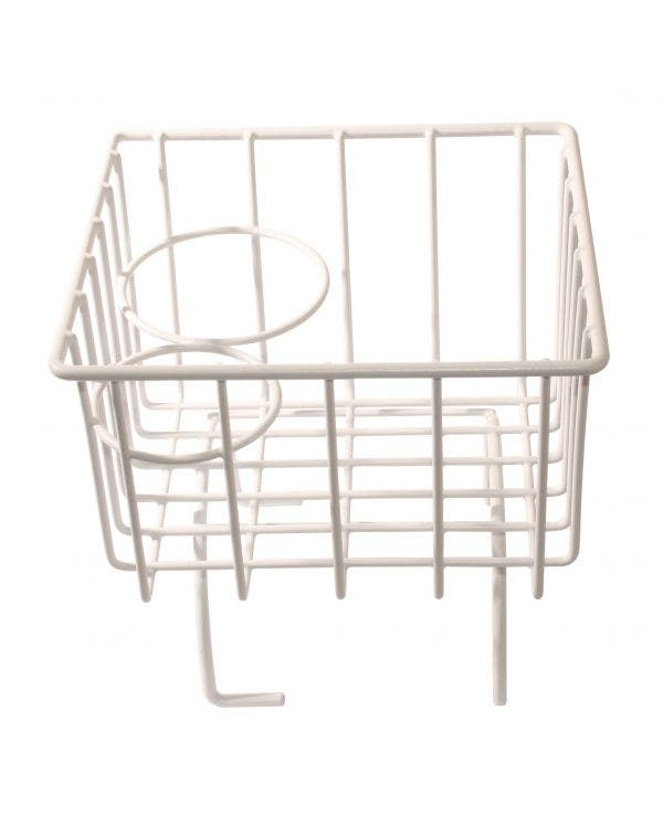 Tunnel Storage Basket White