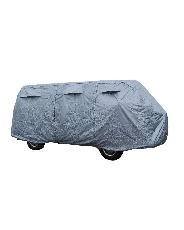 Deluxe Car Cover Flat Top Silver Coated