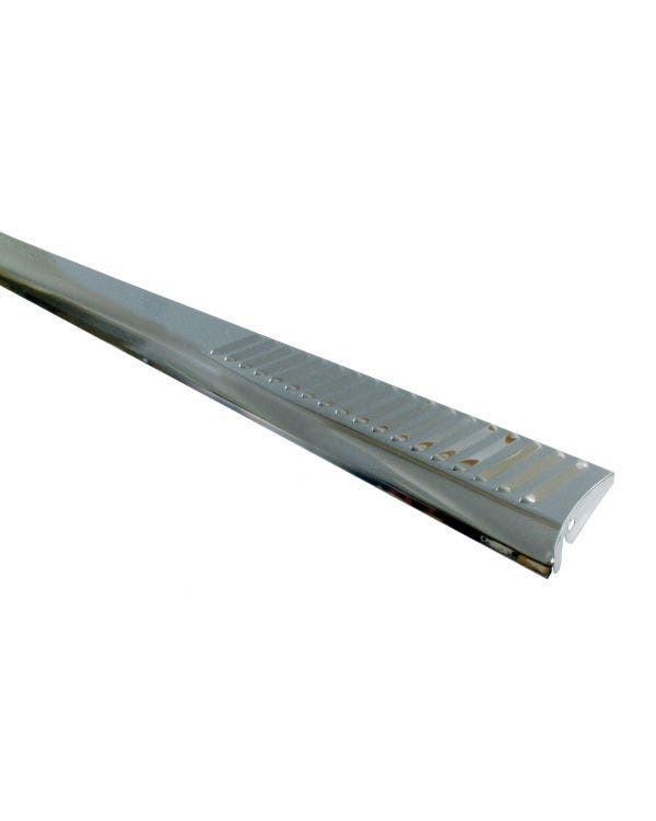 Running Boards Stainless Steel Louvered Pair