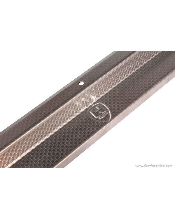 Fast-Fab Door Sill Cover Plates Stainless Steel Pair