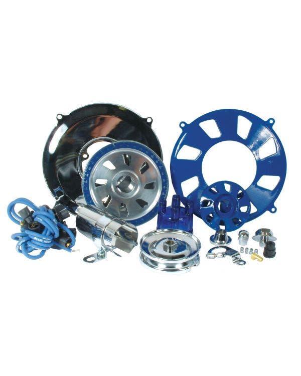 Engine Dress Up Kit Blue Aluminium