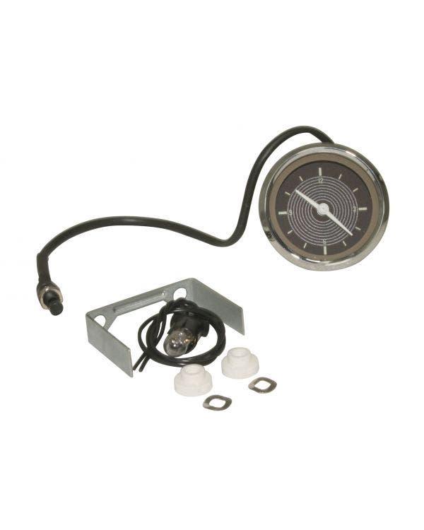 Smiths Original Style Clock Gauge 52mm 12V Brown
