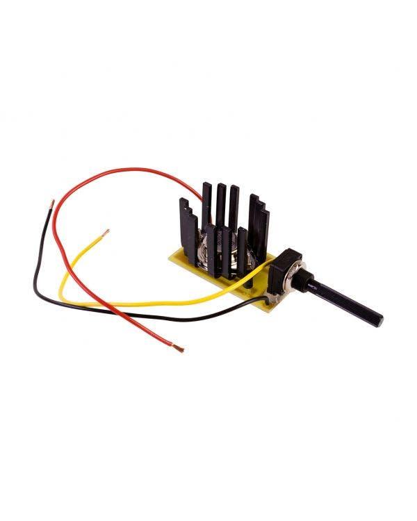 Adjustable Voltage Reducer 12 to 6 Volt