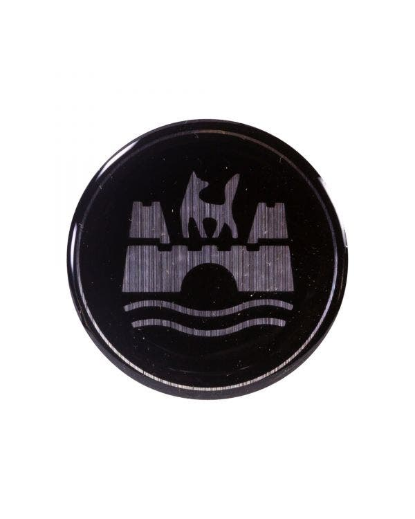 Wolfsburg Crest Horn Press Badge 37.5mm