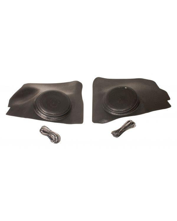 Front Kick Panels with 6.5 Inch Speaker Pair