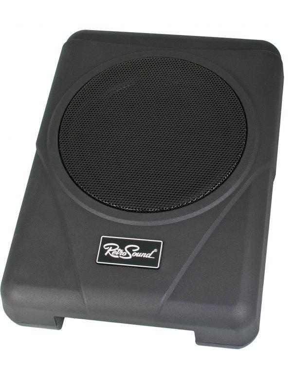 Subwoofer, Retro Sounds, mit integriertem Verstärker