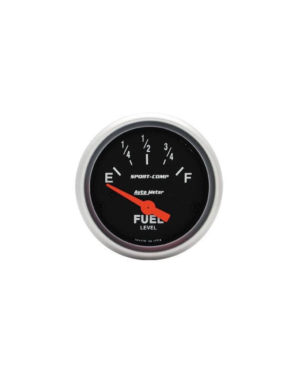 Autometer Sport Comp Fuel Gauge for Universal Sender 2 1/16 Inch