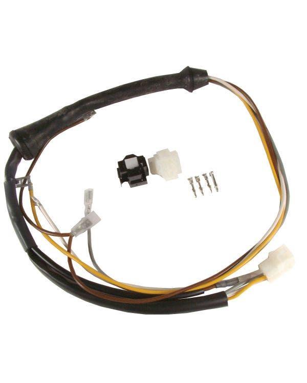 Head Light Repair Kit Short Loom Left or Right