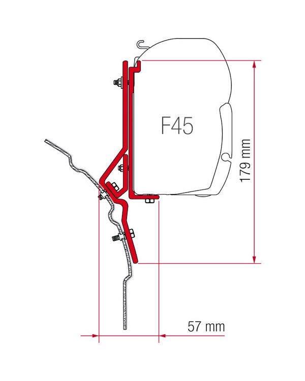 Fiamma F45, Adapter