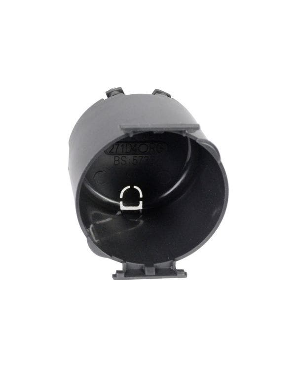 C-Leitungssystem, runde Einbaubox