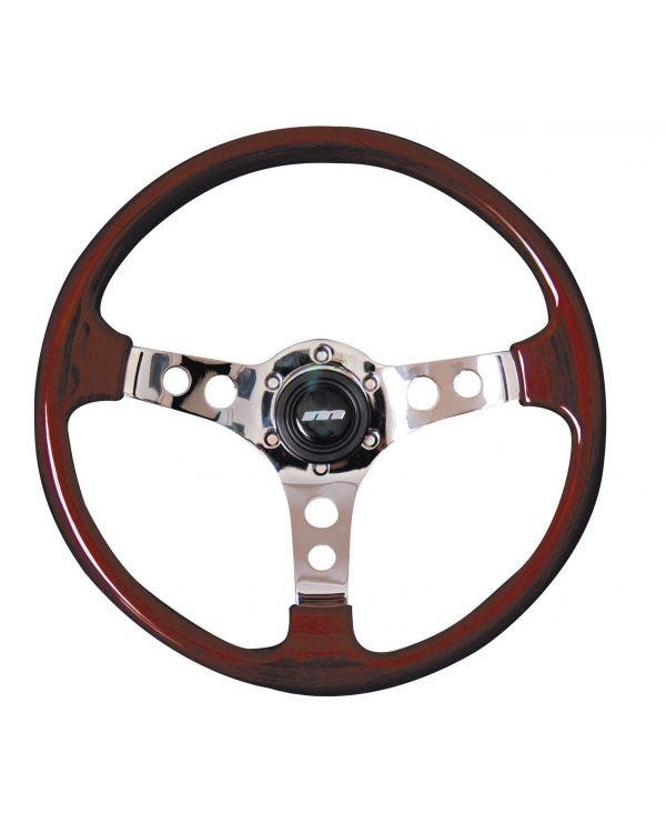 Mountney M-Range Wood Rim Steering Wheel 350mm