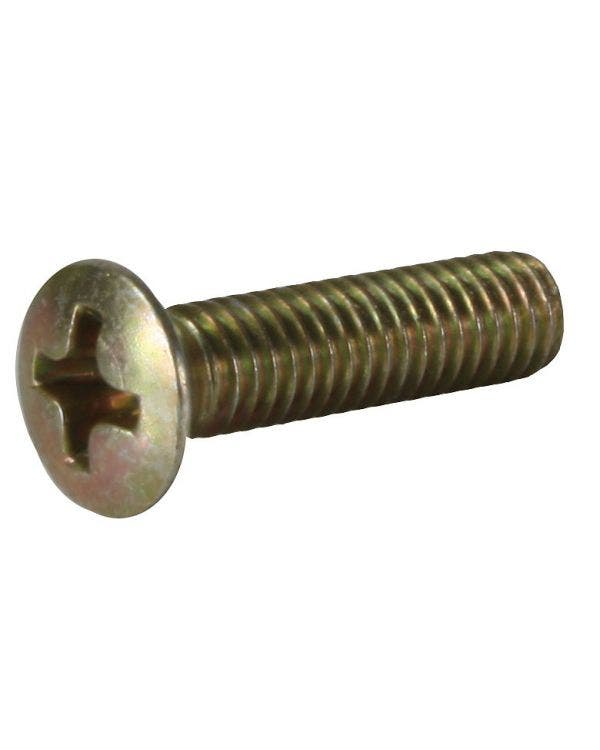 Screw for popout hinge cover and other uses