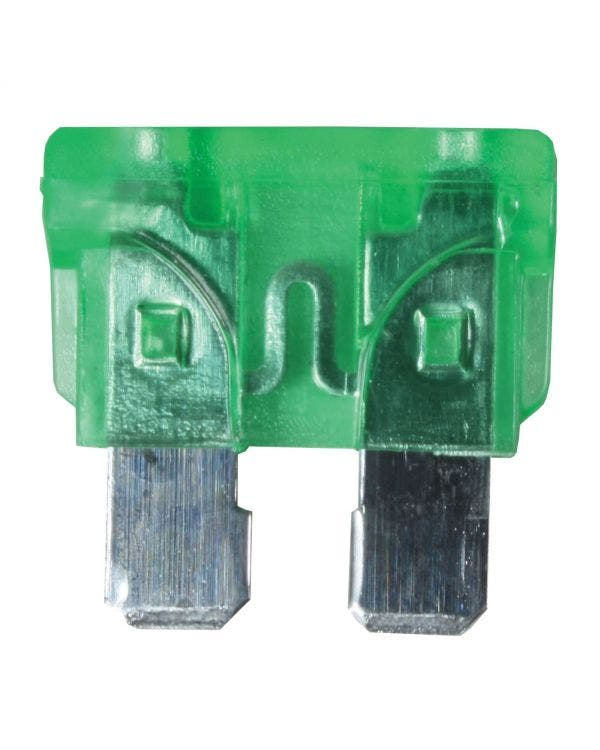 Blade Fuse, Green 30 Amp