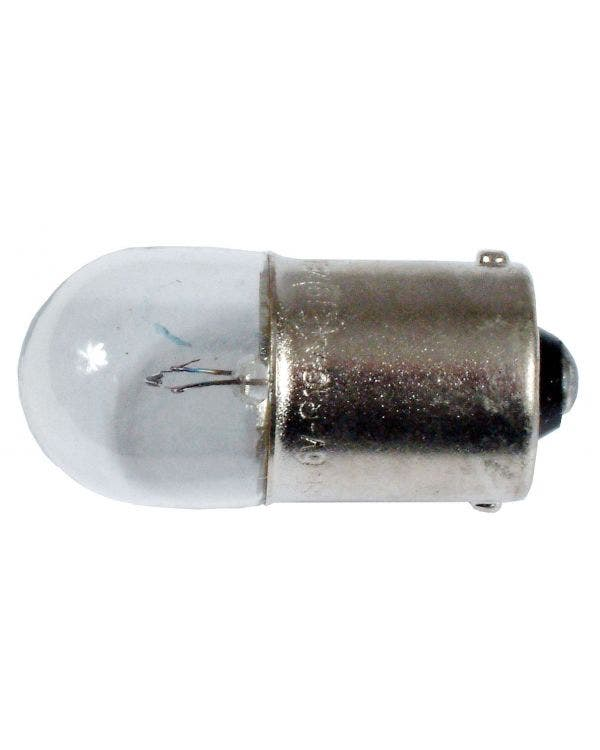Number plate Bulb 244 6v/10w with BA15S Base