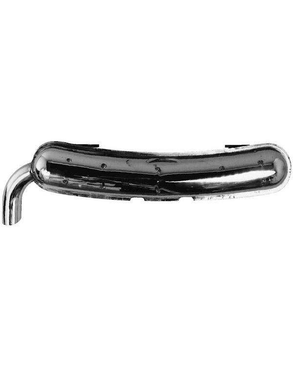Sport Exhaust Rear Silencer Stainless Steel