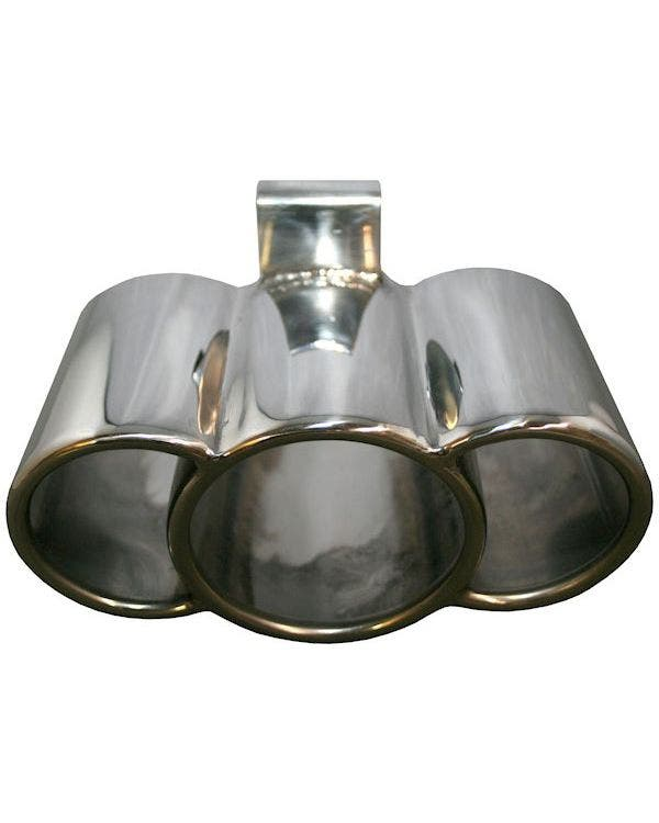 Exhaust Tail Pipe Triple Look Stainless Steel