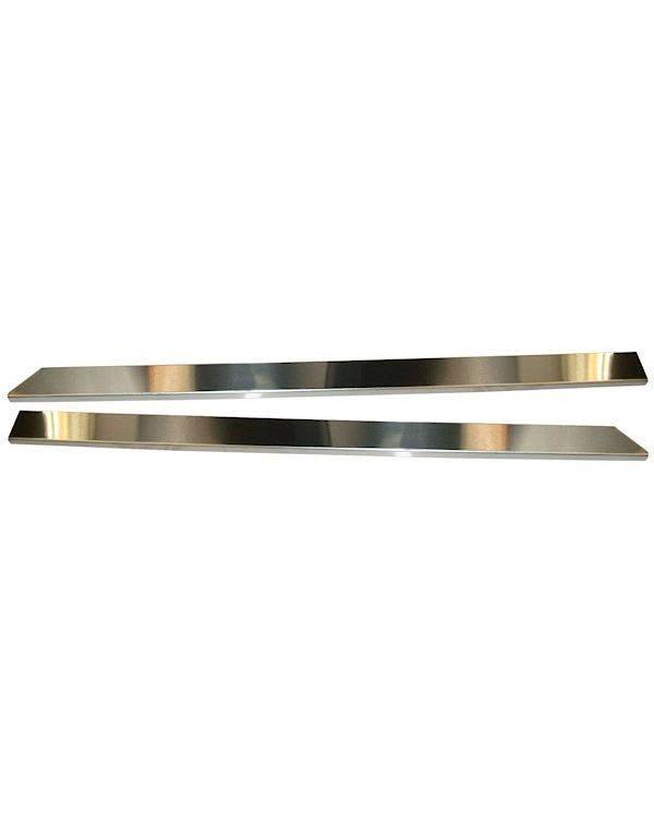 Door Sill Protector Set Stainless Steel