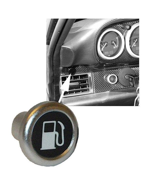 Fuel Filler Flap Release Knob in Aluminium