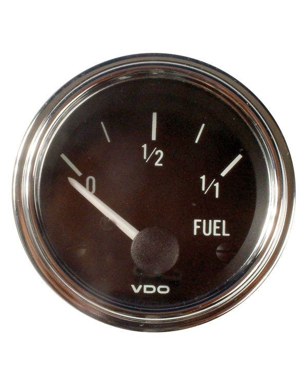 VDO Series 1 Fuel Gauge for Universal Sender 52mm Chrome