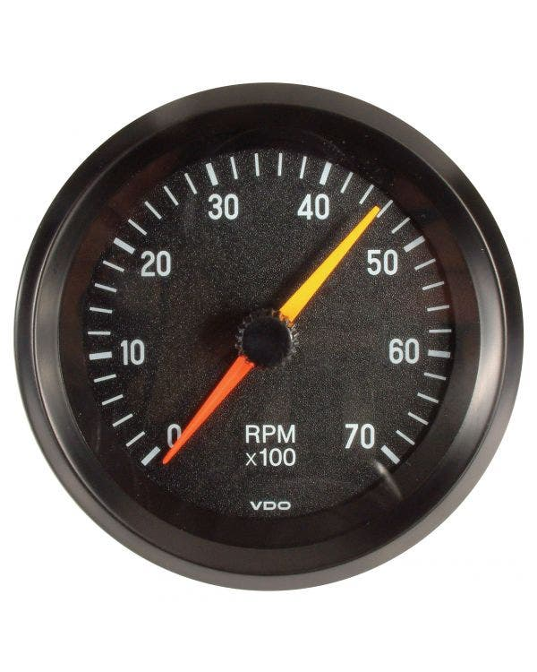 VDO Cockpit Tachometer 7000RPM 86mm Black