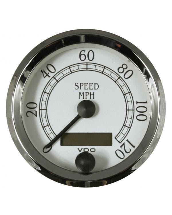 Cuenta kilómetros, 80mm, 120 mph, Royale, VDO