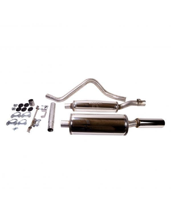 Jetex Stainless Steel Exhaust System with an 80mm Tailpipe
