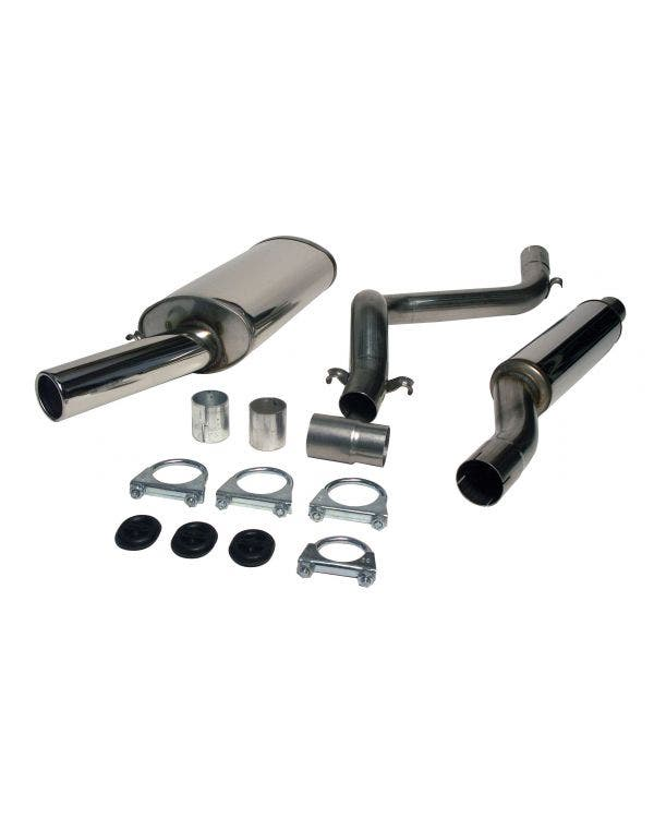 Jetex Stainless Steel Exhaust System, Non Resonated