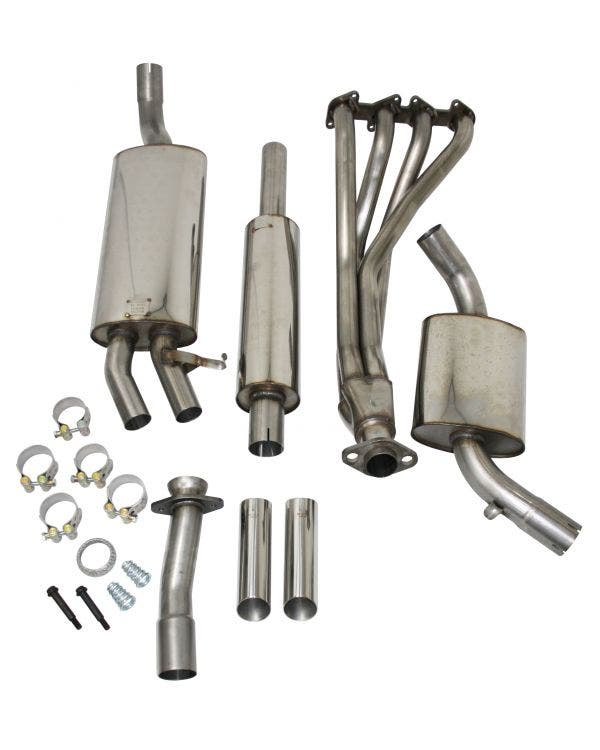 Milltek Exhaust System 16v GTI Stainless Steel