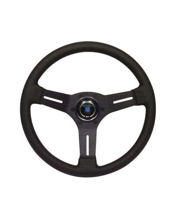 Nardi Competition Steering Wheel, Black Leather 330mm