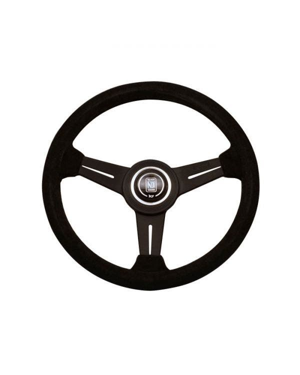 Nardi Classic Steering Wheel, Black Suede 330mm