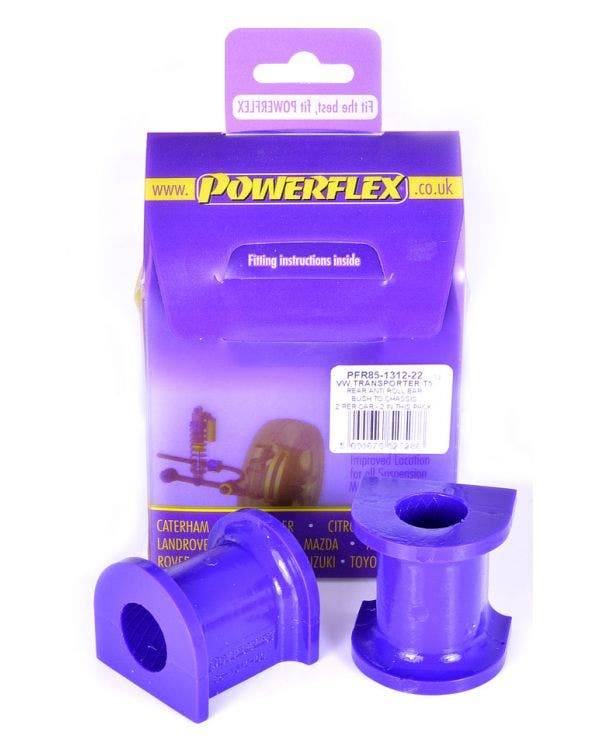 Powerflex Rear Anti-Roll Bar Bush 22mm Pair