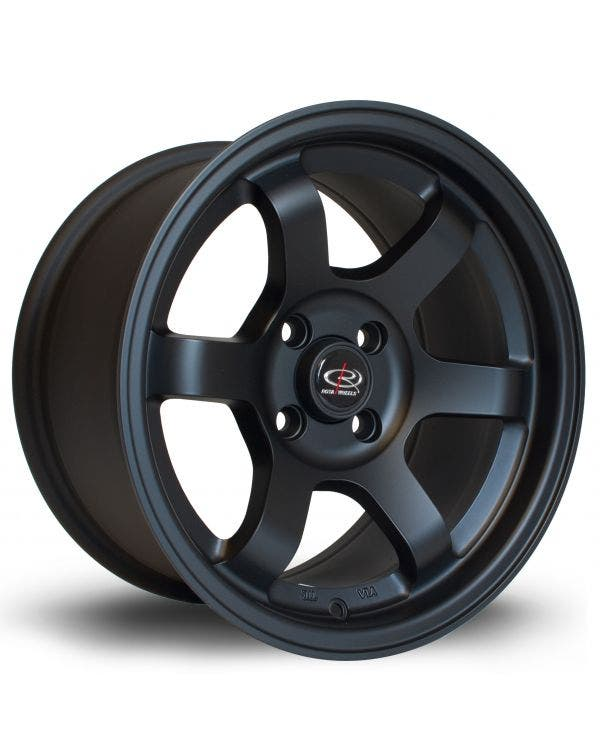 Rota Grid Alloy Wheel 8Jx15'' ET20 4x100 Stud Pattern Matt Black